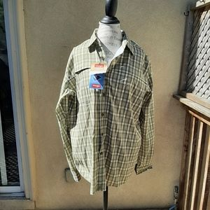 New with tags size large long sleeve shirt men's